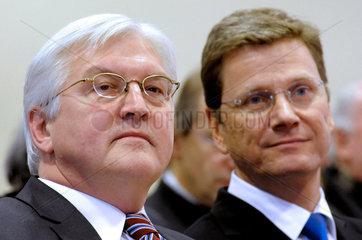 Steinmeier + Westerwelle