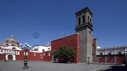 America  Mexico  Puebla state  Puebla city  Santo Domingo church