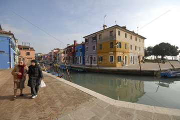 Venedig im Winter - Burano