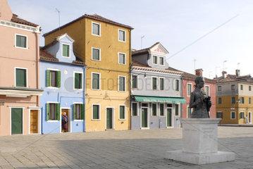Vendig im Winter - Burano