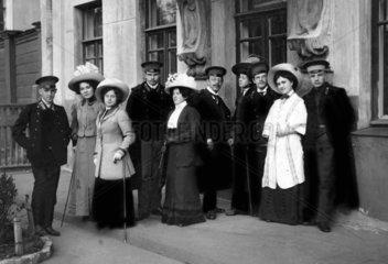 Gruppe Adliger in Russland 1890