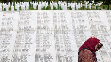 Gedenkstaette Srebrenica