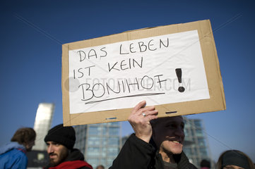 Banken in die Schranken - Occupy Protest  Berlin