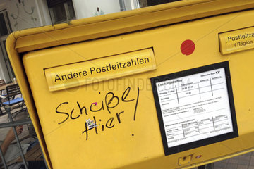 Deutsche Post - Unbefristete Streikdrohung