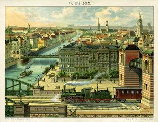 Die Stadt  1885