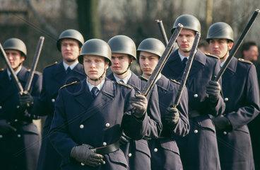 Zapfenstreich bei der Bundeswehr