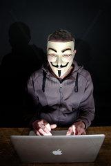 Anonymous-Aktivist