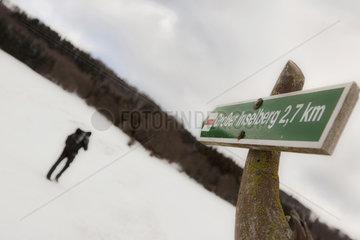 Winterwanderung auf den Rennsteig