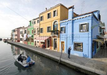 Venedig im Winter - Burano