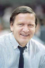Gerhard Schroeder  SPD  Portraet  1986