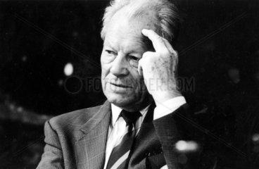 Willy Brandt  SPD