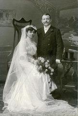 Hochzeitsfoto  Nuernberg  1910
