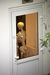 Skelett ante porta