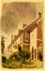 Fingerabdruck Haus Foto Taeter