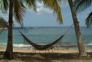 Haengematte in der Karibik