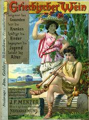 Griechischer Wein  Werbung  1898
