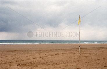 Spanien  Kantabrien  Strand