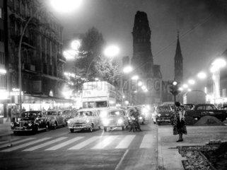 D-Berlin  Kudamm 1960