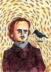 Portrait des Autors Edgar Allen Poe