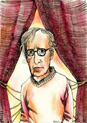 Portrait des Regisseurs und Autors Woody Allen