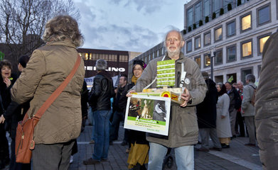 Demonstration gegen S21 - Stuttgart 21