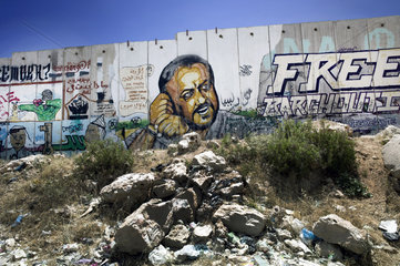 Graffiti Marwan Barghouti