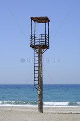 Rettungsschwimmerturm