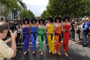 Regenbogen Ladys