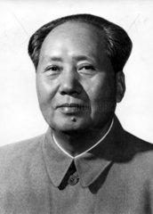 Portraet von Mao Tse-tung 1970er