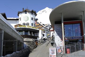 Wintersportort Hochsoelden  Oetztal
