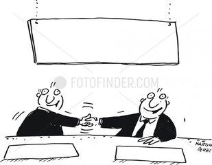 handschlag abmachung politik gesch__ft business