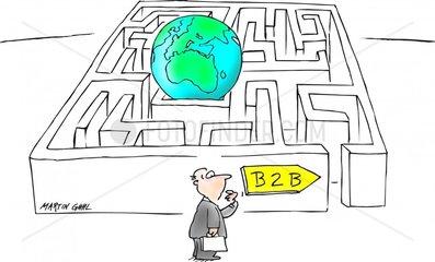 labyrinth irrgarten gesch__ft business b2b