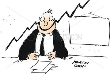 statistik gut aufsteigend marketing verkauf manager