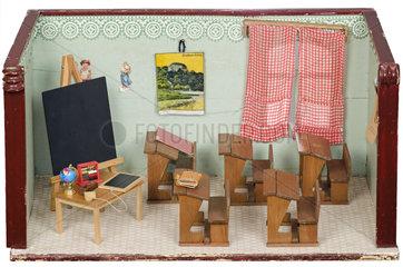 altes Klassenzimmer  Puppenstube  1929