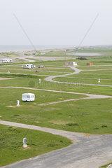 Leerer Campingplatz