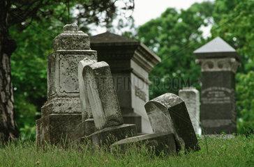 Missisippi-Delta- Friedhof