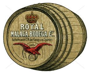 Spanischer Wein  Werbung  1899