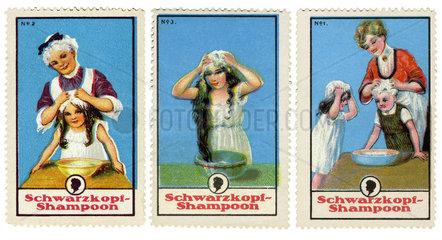 Schwarzkopf Schampoo  Reklamemarken  1913