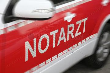 emergency ambulance - german emergency car