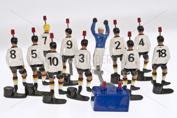 Tipp Kick  deutsche Fussballnationalspieler  1970