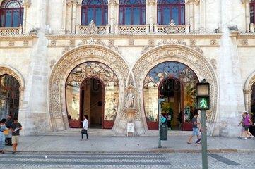 Portugal Lissabon Chiado Bahnhof Rossio 2