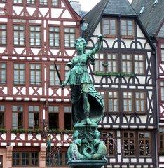 Justitia R__mer Frankfurt