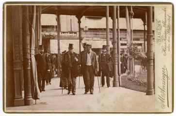 Kaiser Wilhelm I. als Kurgast in Bad Ems  1878