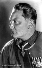 Portraet von Hauptmann Hermann Goering