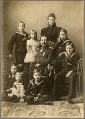 Kaiser Wilhelm II. mit Familie  1896