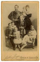 Kaiser Wilhelm II. mit Familie  1893