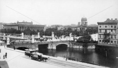 Schlossbruecke Berlin 1890