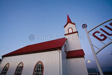 Church  Vopnafjordur  Austerland  Iceland