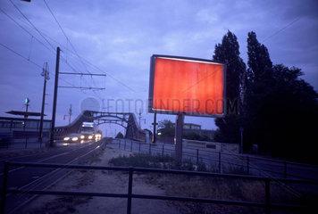 e-on Werbung in Berlin.