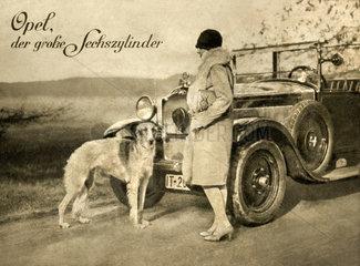 Opel-Werbung 1927